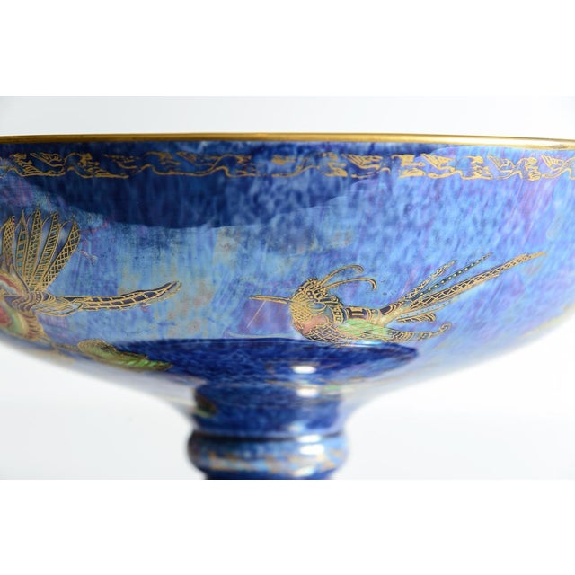 "Art Nouveau Wedgewood ""Fairyland"" Lustre Bowl For Sale - Image 3 of 9"