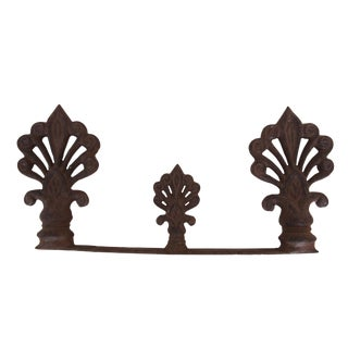 Cast Iron Garden Gate Final For Sale