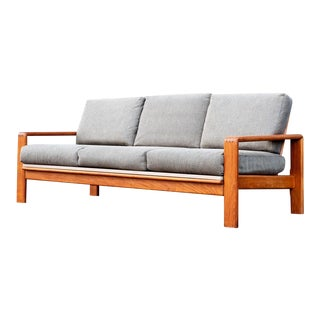 HW Klein Mid-Century Danish Modern Teak Sofa For Sale