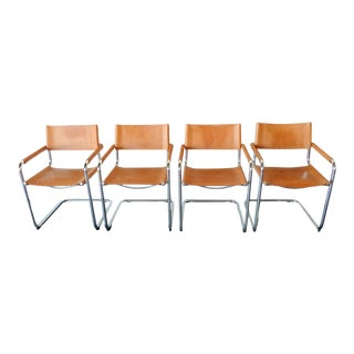 1970s Mart Stam S34 Dining Chairs - Set of 4 For Sale