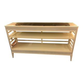 Transitional Theodore Alexander Kerr Console Table For Sale