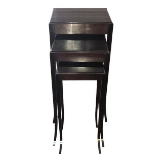 Barbara Barry Nesting Tables - Set of 3 For Sale