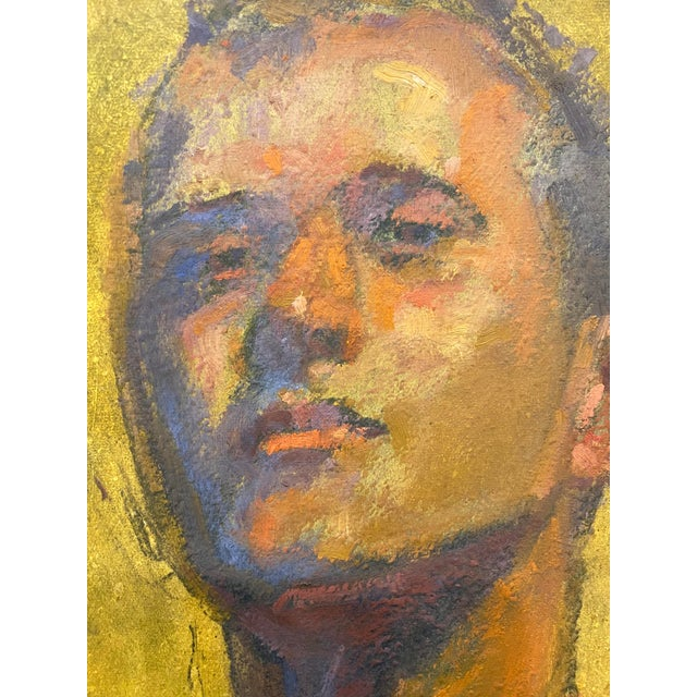 Paint American Portrait of a Man by Bruce Knecht For Sale - Image 7 of 8