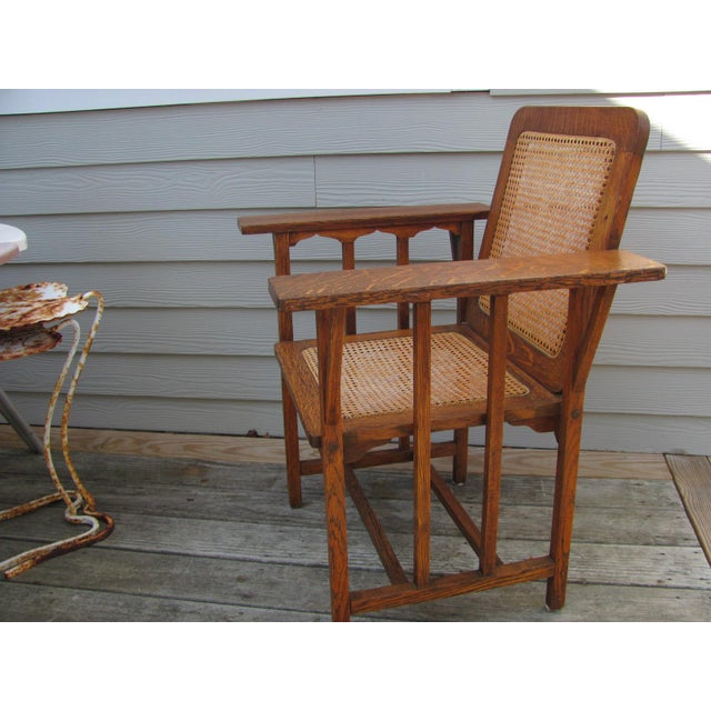 Early 20th Century Vintage David Walcott Kendall Craftsman Kendall Chair For Sale In Providence - Image 6 of 12