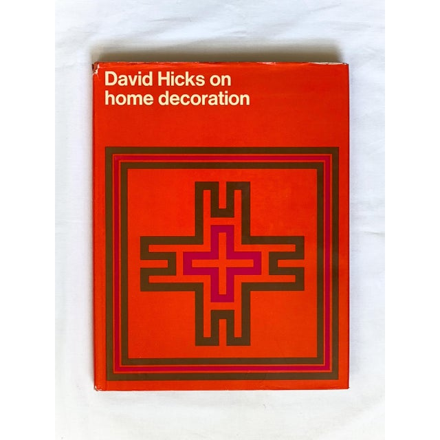 Classic David Hicks reference book. In good condition with inscription/pencil markings on first page (see photo). Comes...