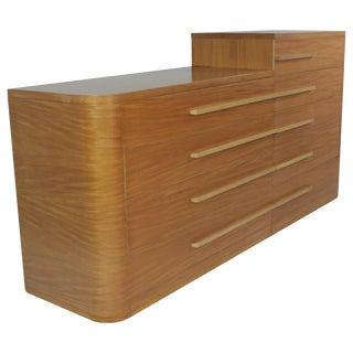 Donald Deskey for Widdicomb Moderne Art Deco Asymmetrical Dresser Set For Sale