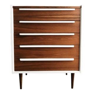 1970s Mid Century Modern Walnut Dresser