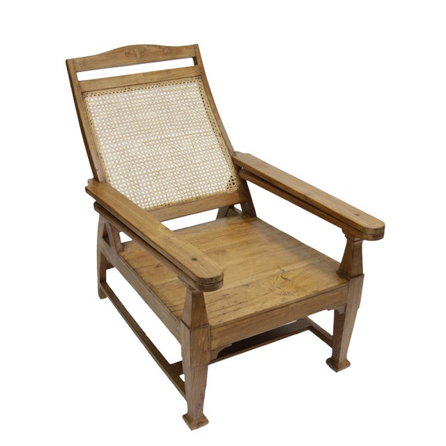 Southern Indian Plantation Chair - Image 1 of 3