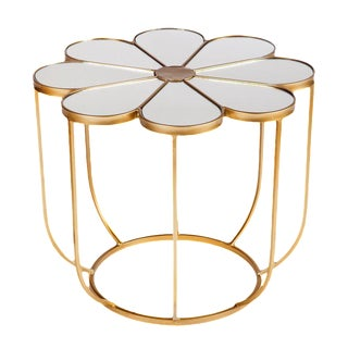 Fleure Mirrored Coffee Table For Sale