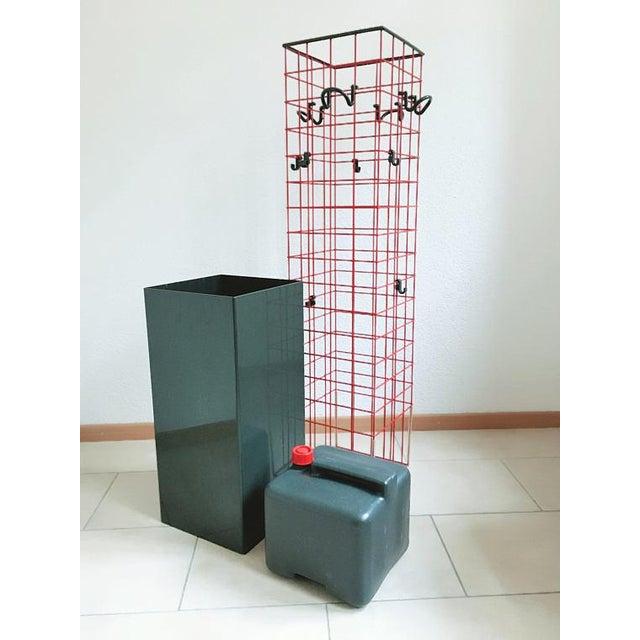 Final Markdown 1979 Anna Castelli for Kartell Postmodern Coat Rack & Planter - Image 2 of 3