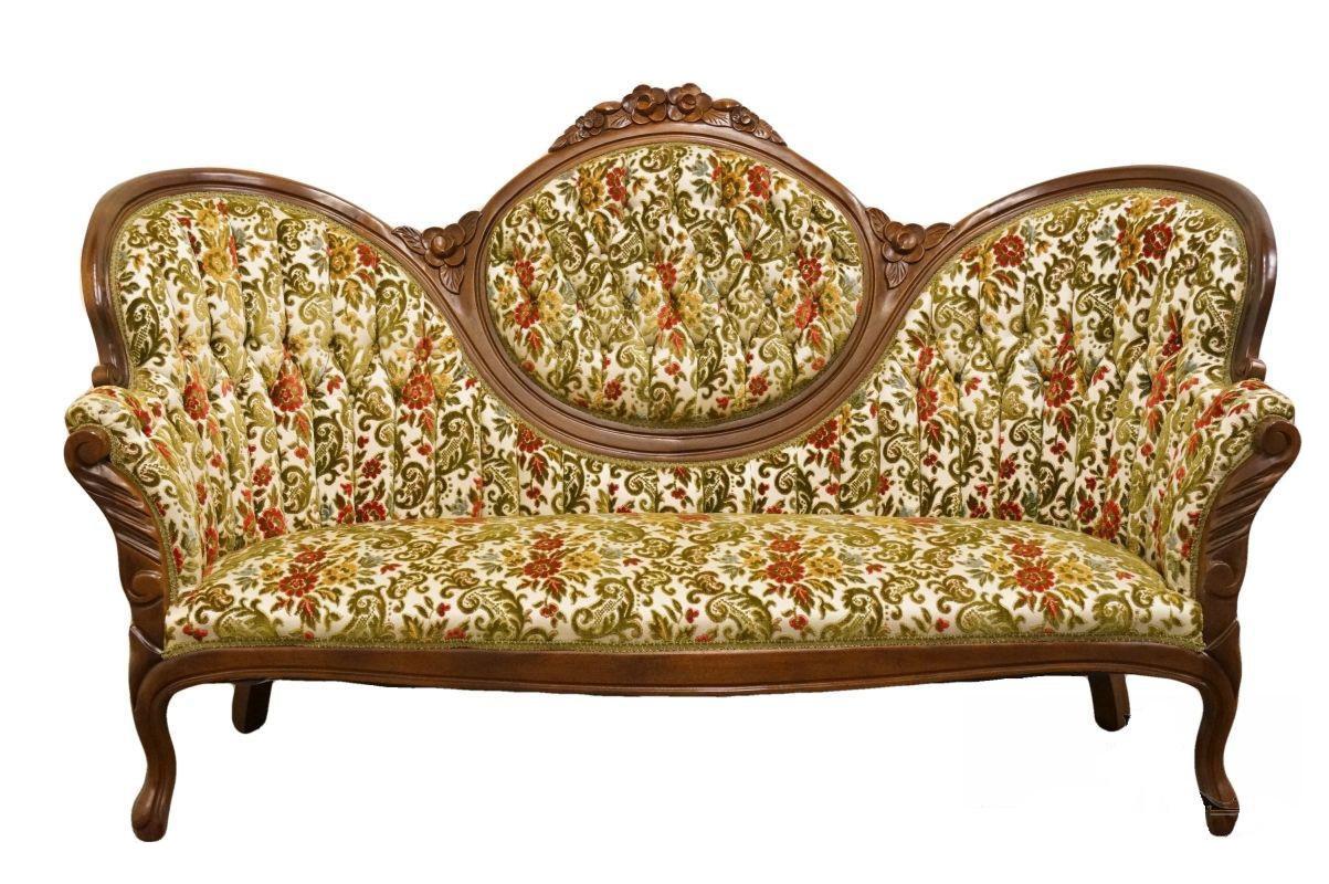 Incroyable Late 20th Century Vintage Kimball Furniture Mahogany Parlor Sofa