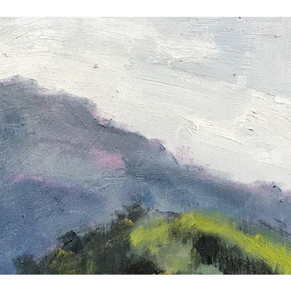 French Provincial Mount Diablo Bird Sanctuary Plein Air Painting For Sale - Image 3 of 7