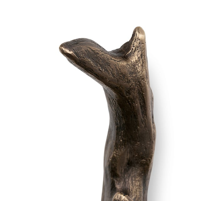 Mid-Century Modern Twig Ea1044 Door Pull From Covet Paris For Sale - Image 3 of 5