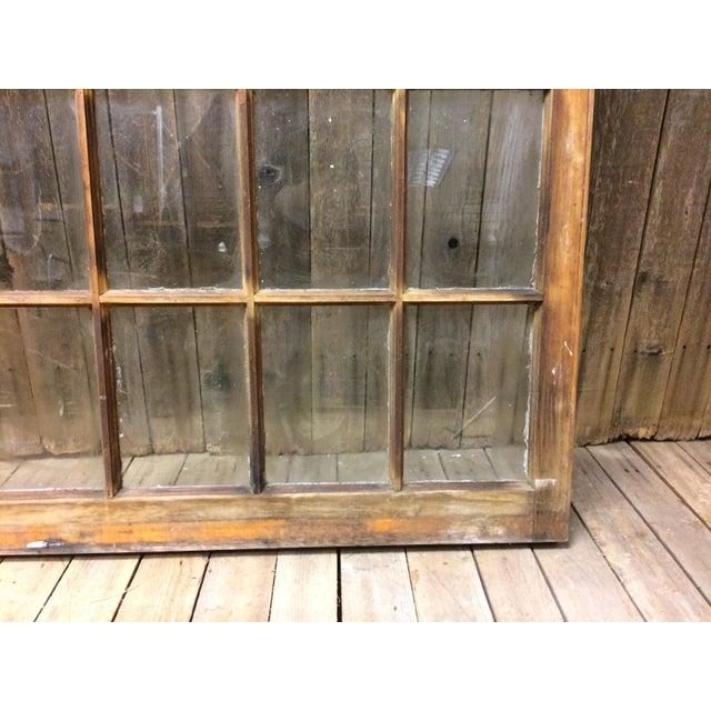 Vintage 24 Pane Wood Window - Image 8 of 11