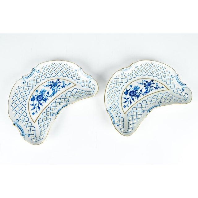 4 Piece Set of Porcelain Tableware For Sale - Image 11 of 13