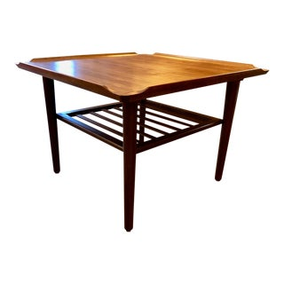 Danish Modern Teak Coffee/Occasional Table by Georg Jensen for Kubus 1960's For Sale