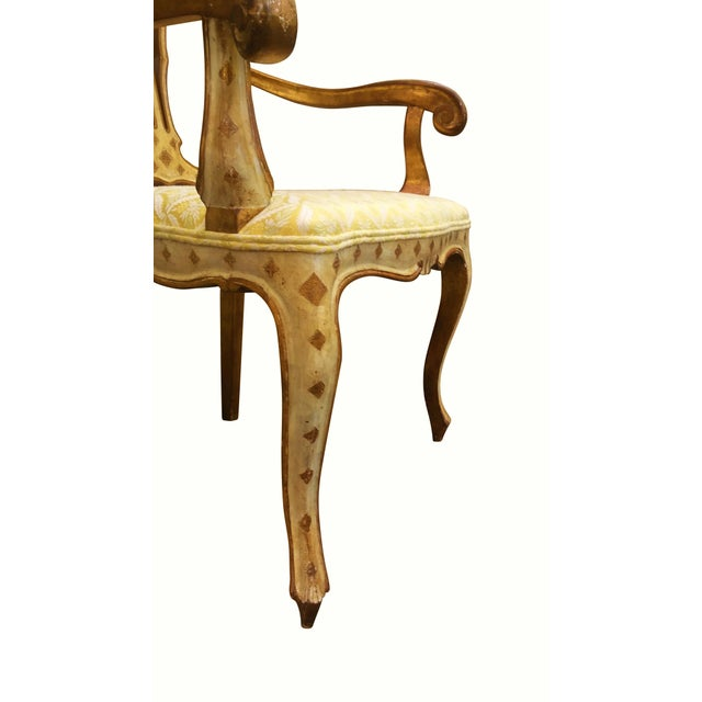 Queen Anne Style Accent Chair - Image 7 of 9