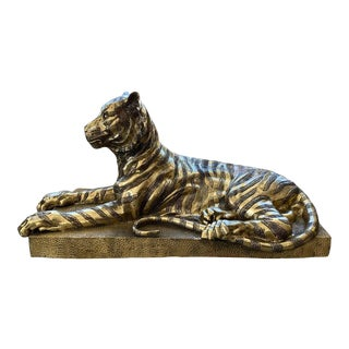 Mid-Century Sculpture Bengal Tiger For Sale