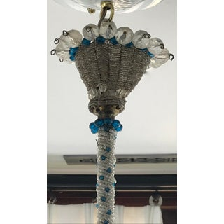 1940s Mid Century French Crystal Chandelier Preview