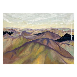 Mountain Transmission' Original Oil Painting For Sale