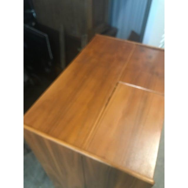 Danish Modern Wooten Style Secretary Desk For Sale - Image 4 of 11