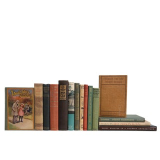 The Country Cabin : Set of Fifteen Decorative Books For Sale