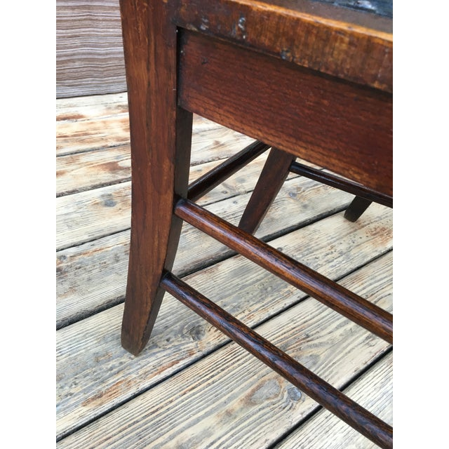 Wood Early 20th Century Heywood and Wakefield Brothers Arts and Crafts Mission Style Side Chairs- A Pair For Sale - Image 7 of 10
