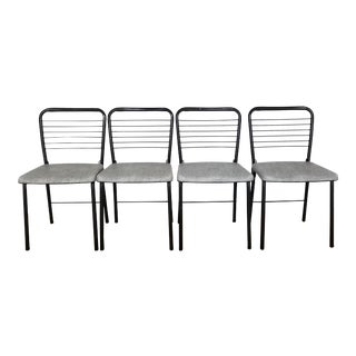 Mid-Century 1960's Cosco Fashionfold Folding Dining Chairs - Set of 4 For Sale