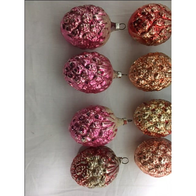 Vintage Christmas Pine Cone Ornaments - Set of 12 - Image 7 of 7