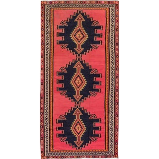 "Apadana - Kilim Rug, 5'1"" x 10'4"" For Sale"