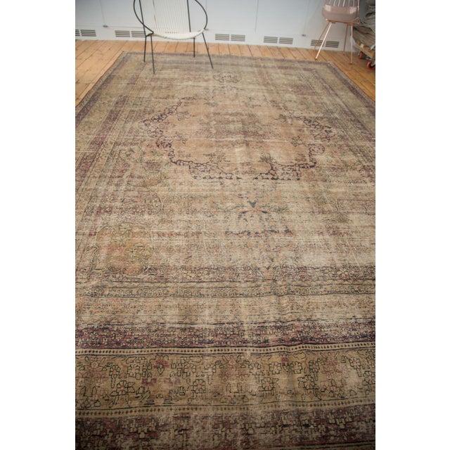 "Antique Persian Kerman Carpet - 9' X 13'1"" - Image 3 of 10"