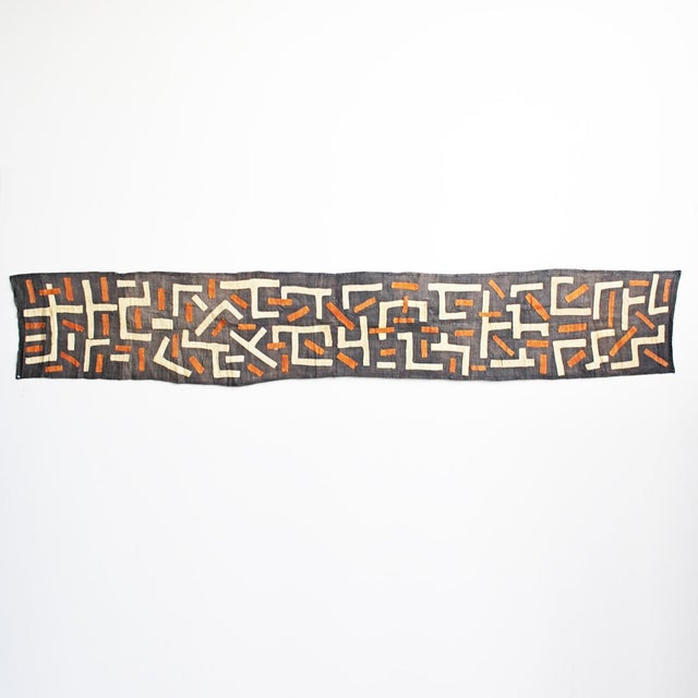 Traditional Kuba cloth hand made from the indigenous people of the Congo. The process of making Kuba Cloth is extremely...