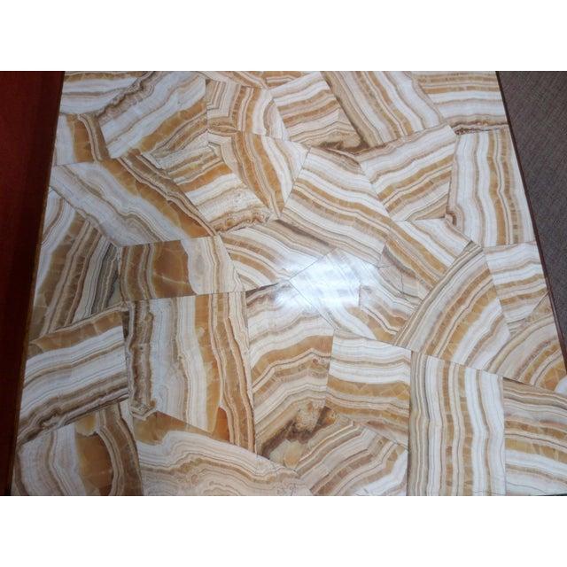 Ed Wormley Dunbar Travertine Coffee Table - Image 5 of 9