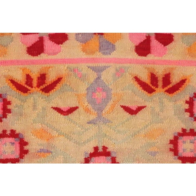 Vintage Peruvian Rug Fernanda Handwoven - 4′11″ × 6′9″ - Image 4 of 6