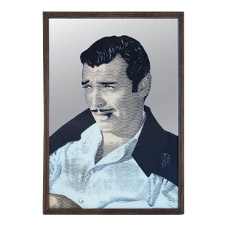 Clark Gable / Rhett Butler Printed Mirror For Sale