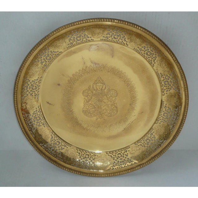Pierced Brass Tray Chinese Zodiac Animals For Sale - Image 10 of 10