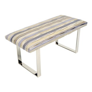 """BeBe 38"""" Bench Striped Thino For Sale"""