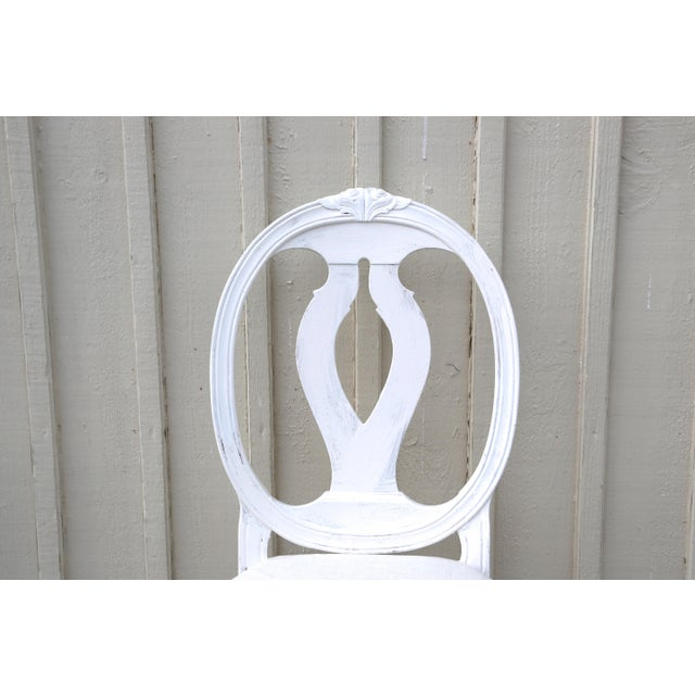 Gustavian (Swedish) 1900s Vintage Swedish Gustavian Style Dining Chair (16 Available) For Sale - Image 3 of 10