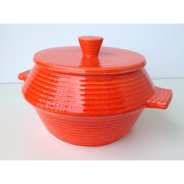 1960s California Pottery Lidded Soup Tureen For Sale - Image 5 of 11