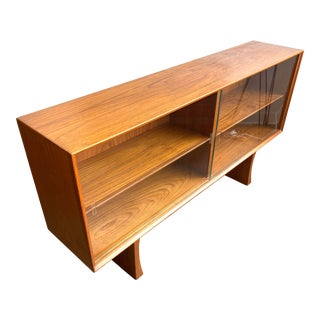 Teak Display Danish Book/Shelf by Bernhard Pedersen & Son For Sale