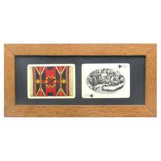 Mid-Century Southwestern Souvenir Cards, Framed For Sale