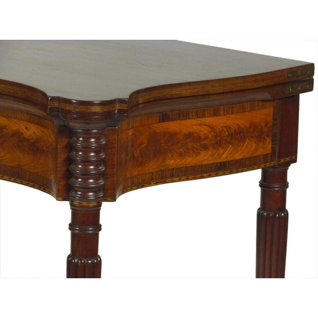 Late 19th Century Federal-Style Card Tables - a Pair For Sale - Image 9 of 13