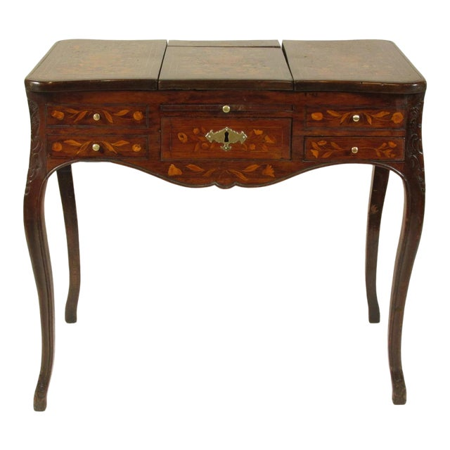 19th Century French Marquetry Podruse For Sale