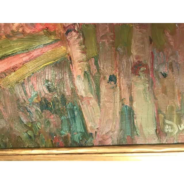 French Fauve Landscape Oil Painting Signed, A. Derain For Sale In West Palm - Image 6 of 11