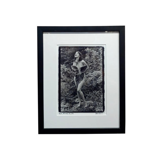 Bjork Nude in Woodstock- Photograph Signed by Laura Levine, 1991 For Sale