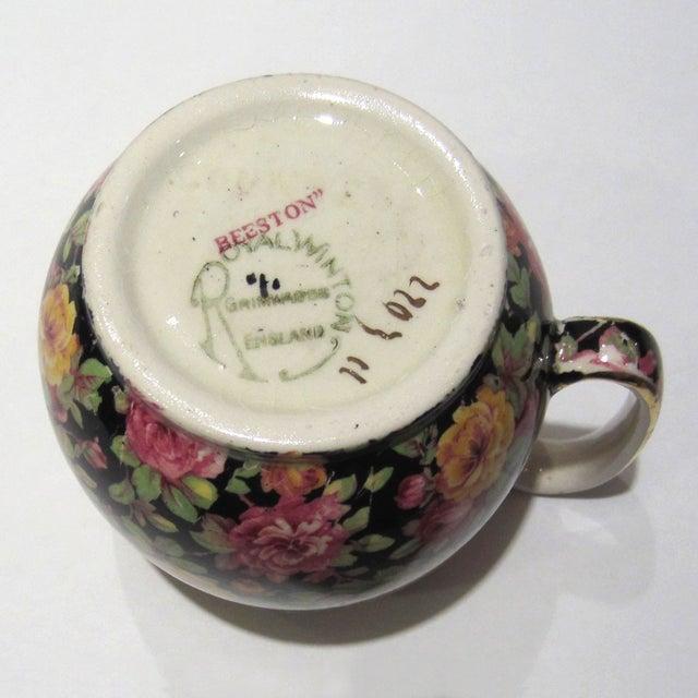 Royal Winton Chintz Cream & Sugar Set - Image 5 of 7