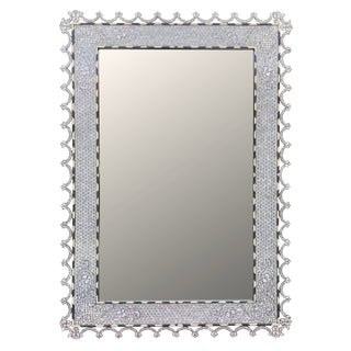 Contemporary Syrian Mother of Pearl Inlay Mirror
