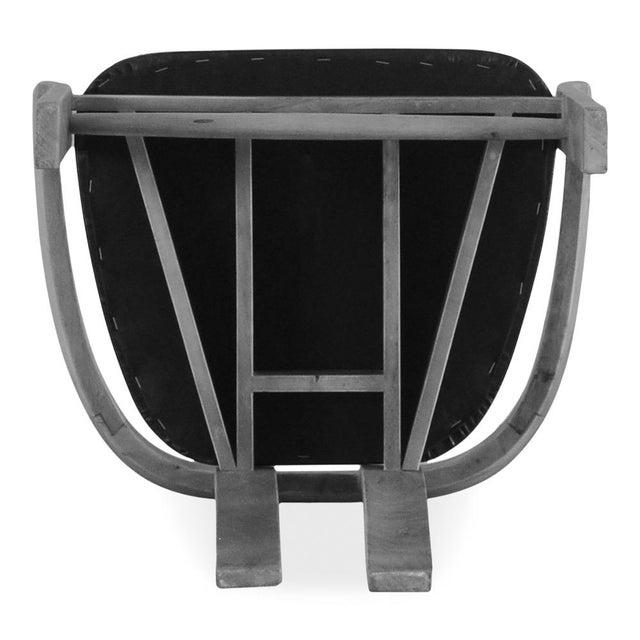 Wood Sarreid Ltd Rift Dining Chair For Sale - Image 7 of 8