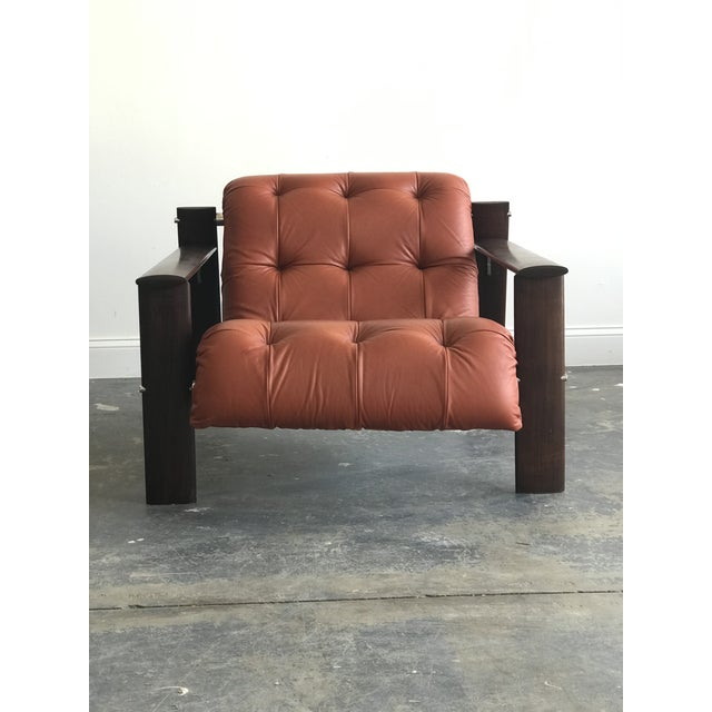 Mid Century Modern Model Mp-129 Percival Lafer Lounge Chair For Sale In Philadelphia - Image 6 of 11