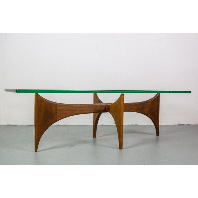 Mid-Century Modern Coffee Table Designed by Adrian Pearsall For Sale - Image 3 of 7